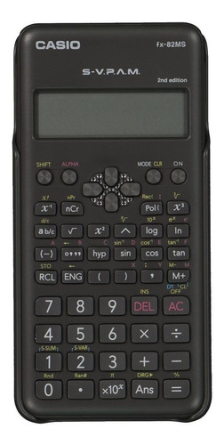calculadora científica casio 2nd edition - svpam - fx-82ms