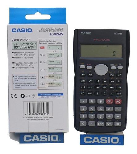 calculadora cientifica casio cassio fx-82ms 100% original