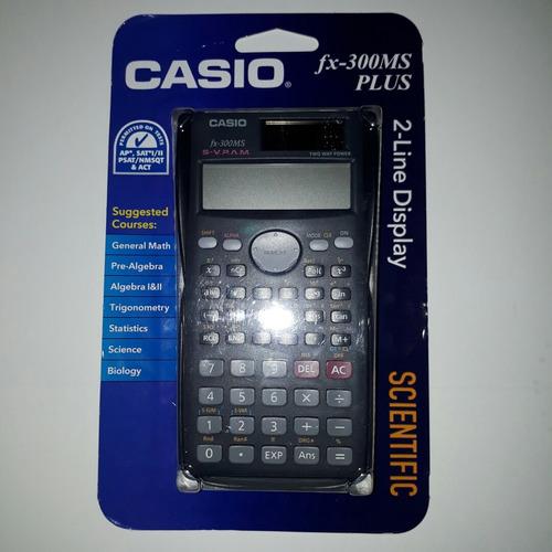 calculadora científica casio fx-300ms plus nueva