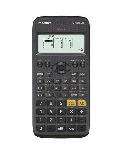 calculadora científica casio fx-350la x classwiz