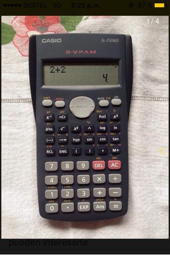 calculadora científica casio fx-350ms