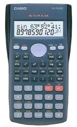 calculadora científica casio fx-350ms nueva