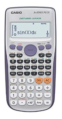 calculadora cientifica casio fx 570 es plus / la plus
