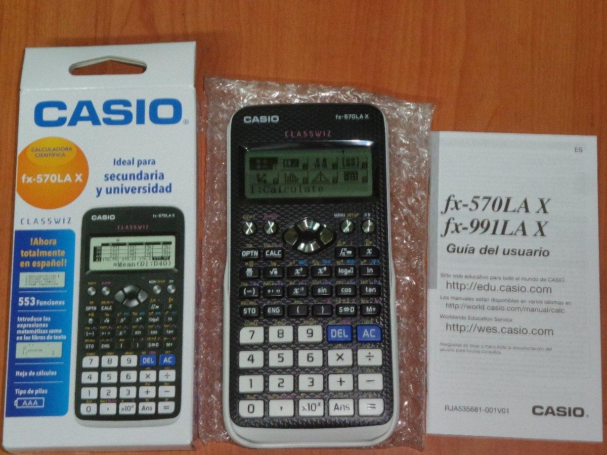 972fdcc980cc calculadora cientifica casio fx-570 lax classwiz nueva. Cargando zoom.