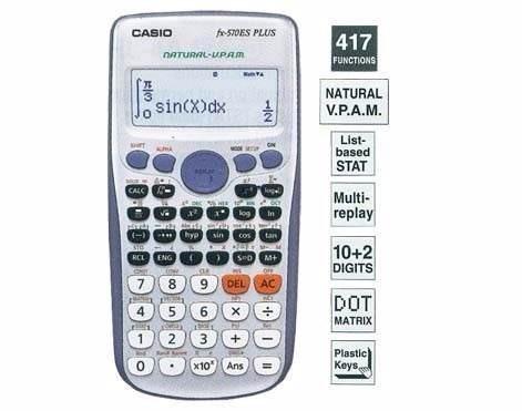 calculadora cientifica casio fx-570es plus