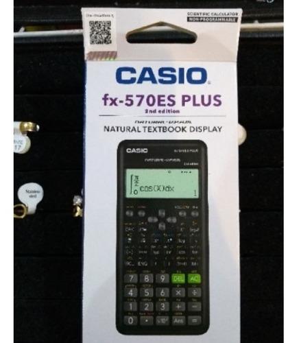 calculadora cientifica casio fx 570es plus original  agenda