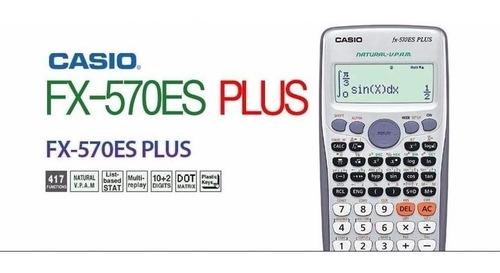 calculadora cientifica casio fx-570la plus - 417 funciones