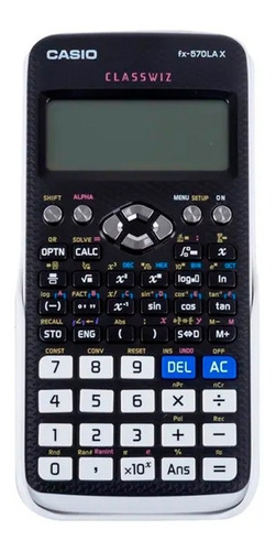 calculadora cientifica casio fx-570lax 553 funciones qr