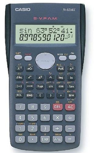 calculadora científica casio fx - 82 ms 240 funciones