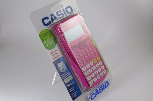 calculadora cientifica casio fx-82la plus pk |watchito