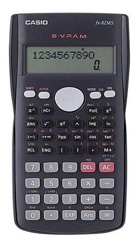 calculadora cientifica casio fx-82ms 240 fç original c/ nf