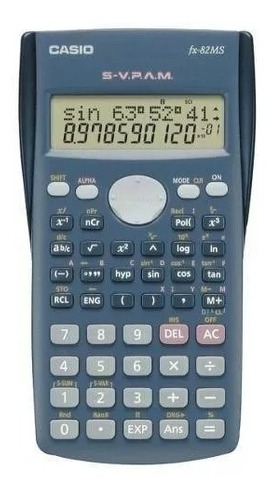 calculadora científica casio fx 82ms 240 funciones origina
