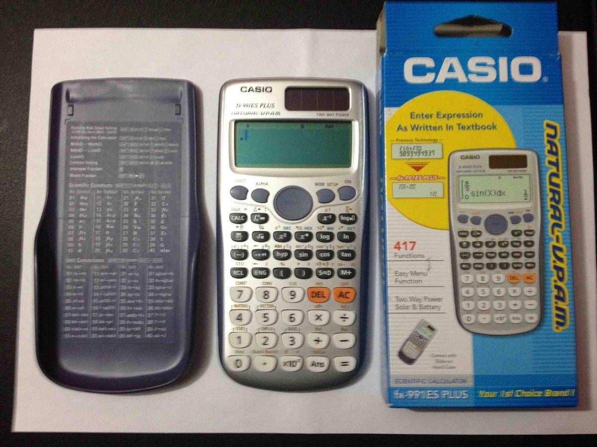 Casio Fx 991es Plus Emulator Kksoup Scientific Calculator 570es