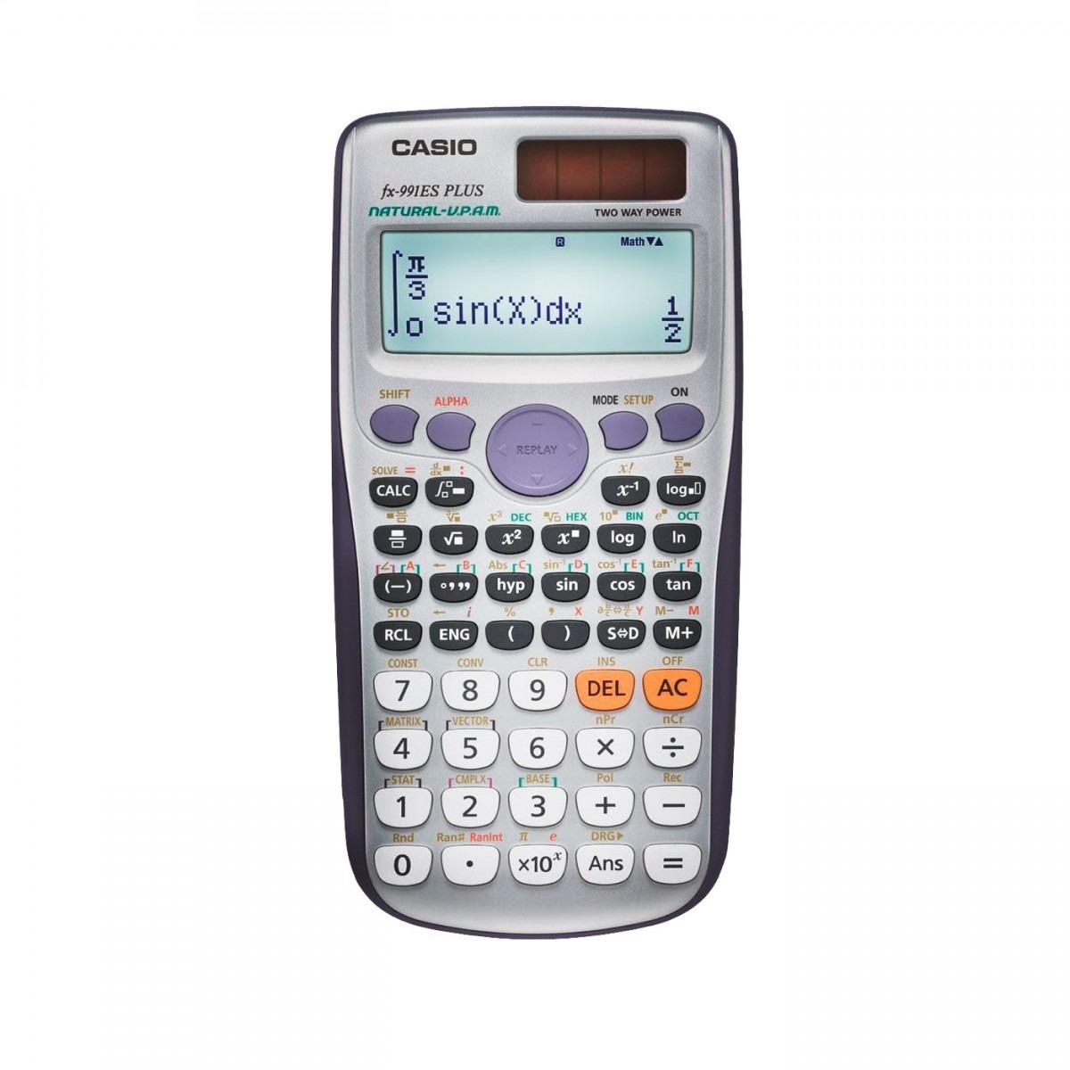 4457a19ca18 Calculadora Científica Casio Fx-991es Plus Com 417 Funções - R  94 ...