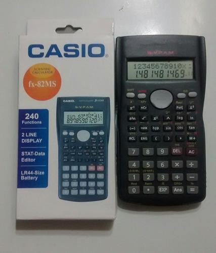 calculadora científica casio fx82 ms, doble linea