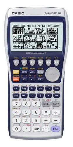 calculadora cientifica casio fx9860gii con entrada sd