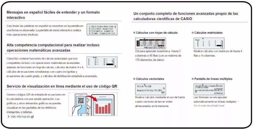 Calculadora Cientifica Casio Fx991la X Classwiz 553 Funcione - S/ 99 ...