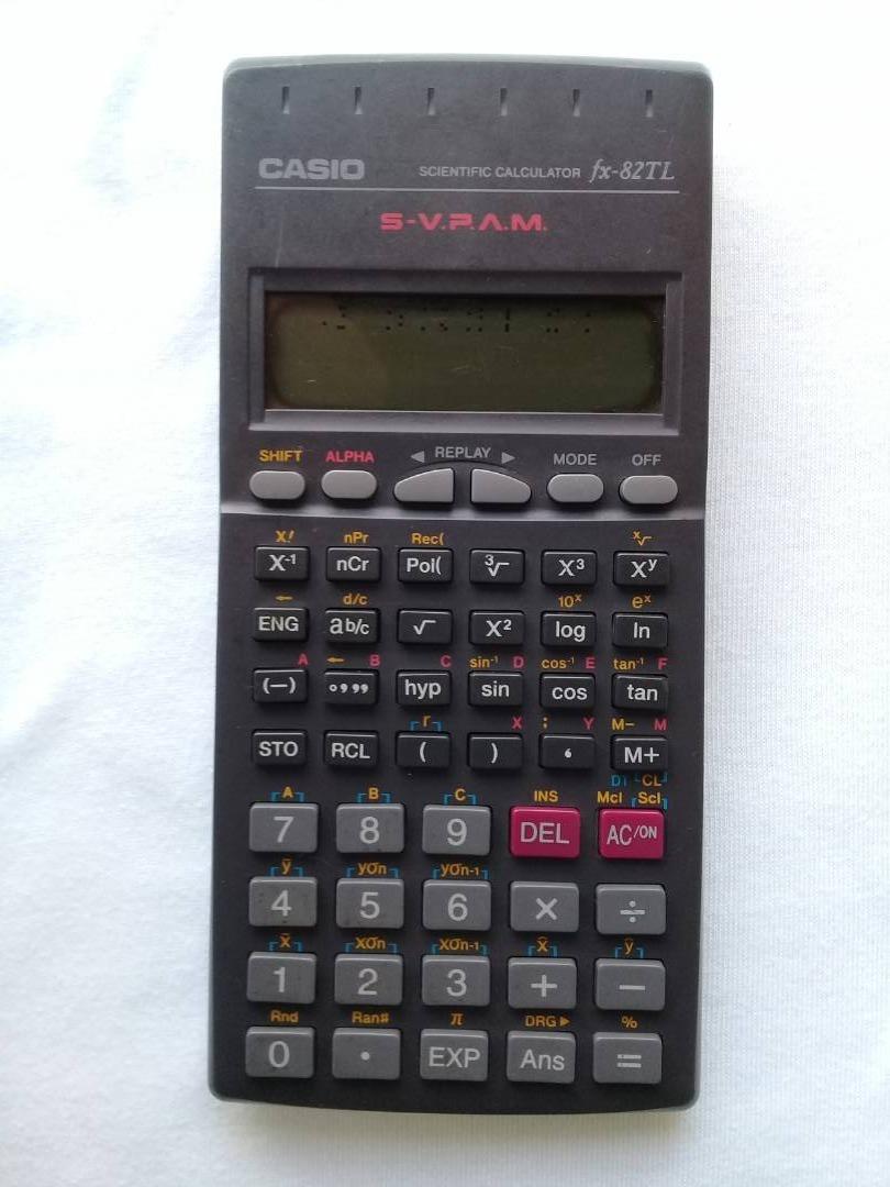 373bddb52f10 calculadora cientifica casio modelo fx-82tl. Cargando zoom.