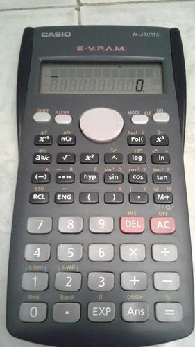 calculadora cientifica casio original fx 350ms
