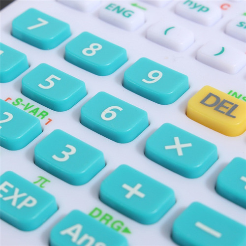 calculadora científica kadio 240 funciones hermosos colores