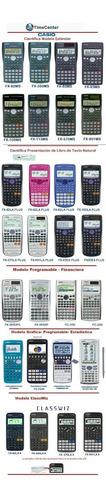 calculadora científica programable casio fx-5800p