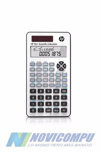 calculadora cientifica solar hp 10s original