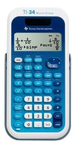 calculadora científica texas instruments ti-34 multiview