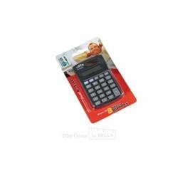 calculadora cifra b-123 ap - 8 digitos grandes de bolsillo