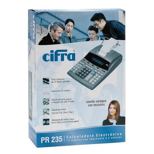 calculadora cifra pr235 - ditribuidor oficial