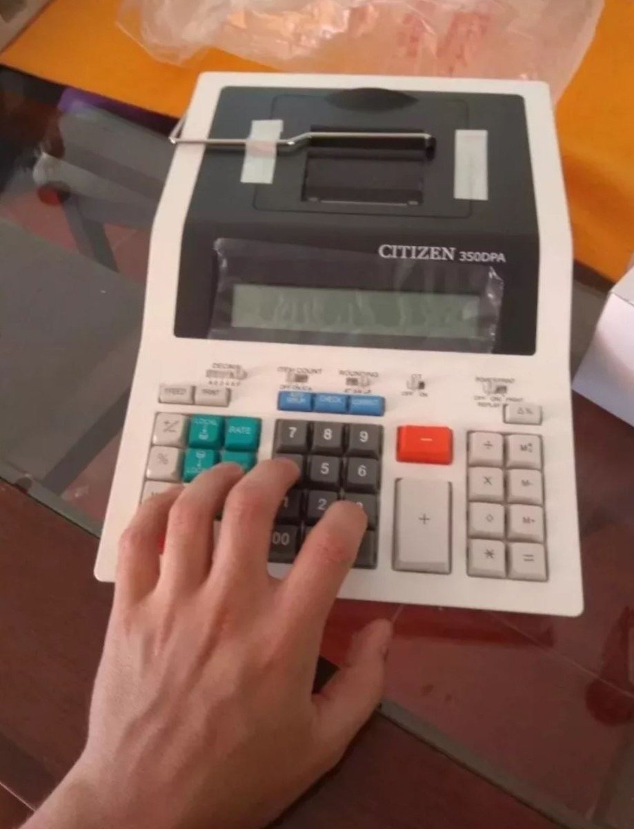 Citizen 350-DPA Calculadora
