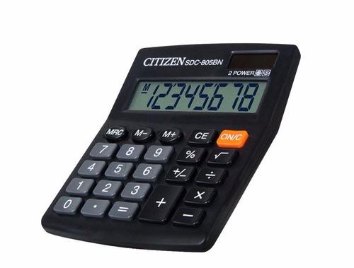 calculadora citizen de escritorio sdc-805bn