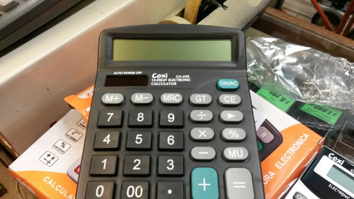 calculadora coxi / weida - 39 12 digitos a pila microcentro