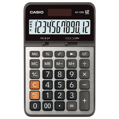 calculadora de escritorio casio ax-120b