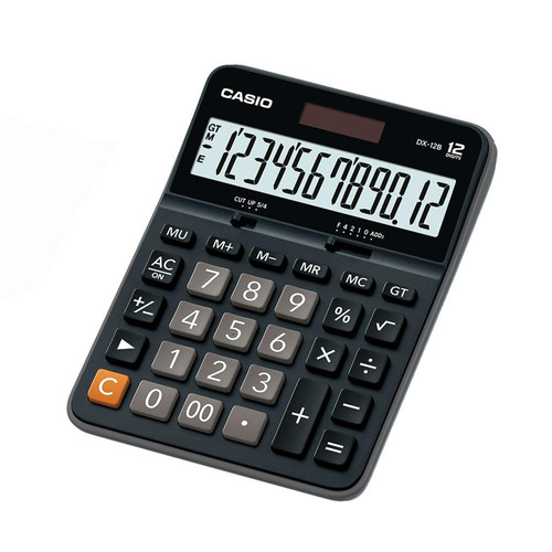 calculadora de escritorio casio dx-12b