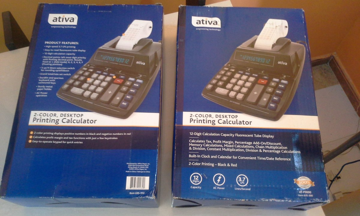 12 digit calculator instructions