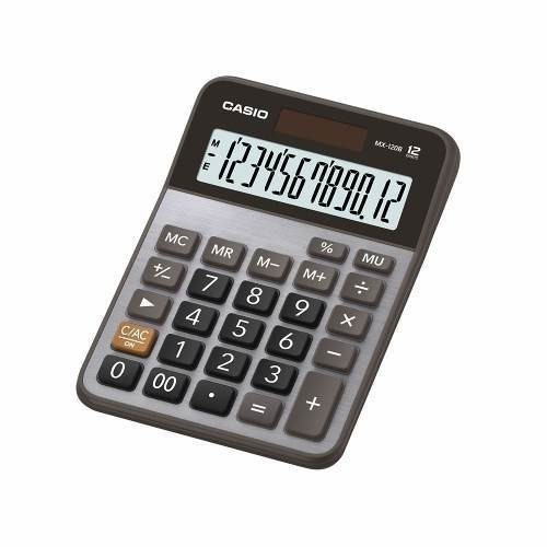 calculadora de mesa casio mx-120b 12 digitos