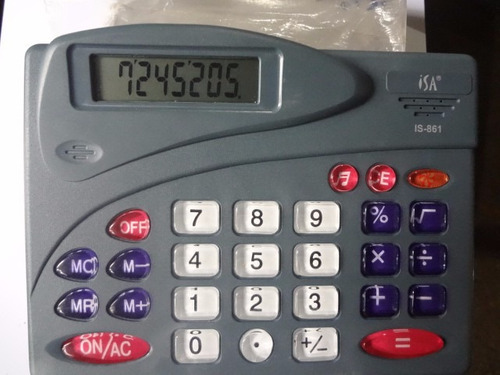 calculadora de mesa con sonido de teclas (leer descripcion)
