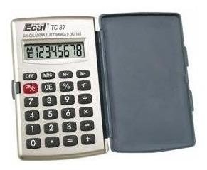 calculadora ecal de bolsillo tc-37 (202160)
