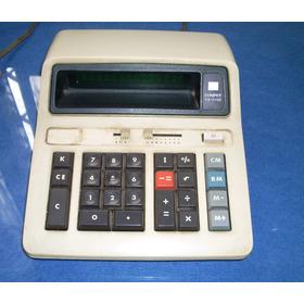 Calculadora Eletrônica Sharp - Compet- Cs-2108  Década De 70