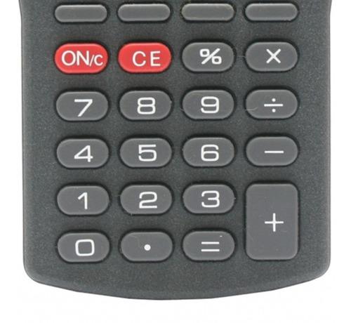 calculadora escolar escritório pequena grava mensagem b607