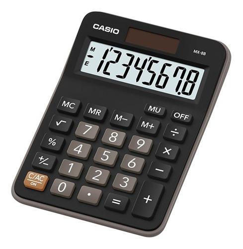 calculadora escritorio casio mx-8b garantia oficial 2 años