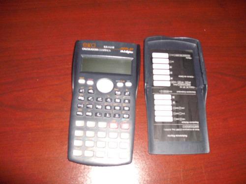 calculadora  exa cientifica ex-a240  replay 10 . 2 digitos