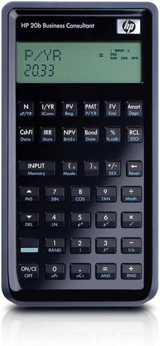 calculadora f2219aa estudiante financiera científica hp 20b