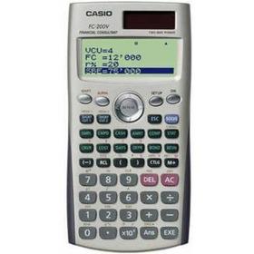 Calculadora Financeira Casio Fc-200v Original Frete Grátis.