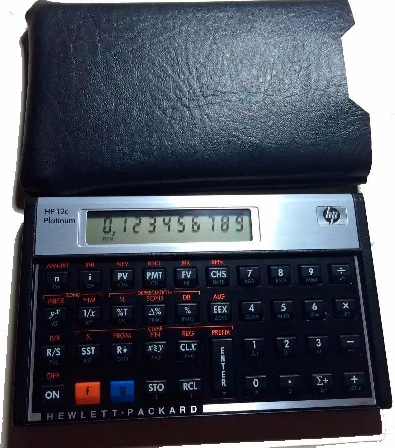 0840c3908 Características. Marca Hp 12c  Modelo Calculadora Financeira Hp 12c Gold ...
