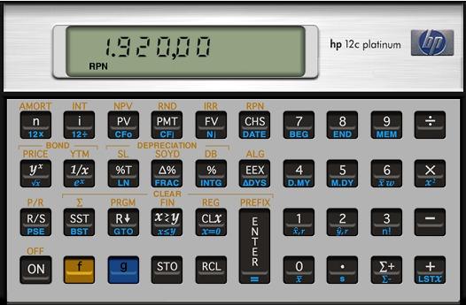 calculadora financeira hp 12c platinum virtual manual pt r 10 rh produto mercadolivre com br Used HP 12C HP 12C Case