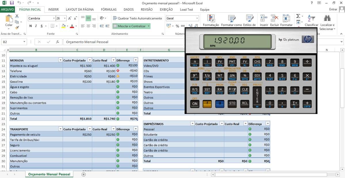 calculadora financeira hp 12c platinum virtual manual pt r 10 rh produto mercadolivre com br Used HP 12C Used HP 12C