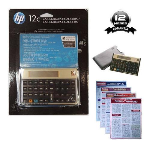 calculadora financeira hp12c hp 12c gold lacrada original