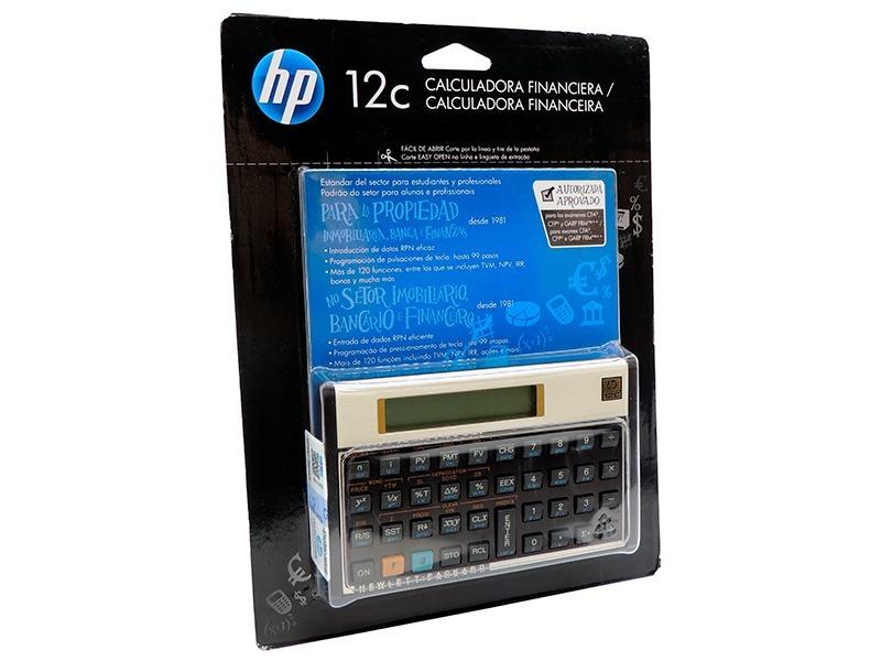 calculadora financeira hp12c hp 12c gold original lacrada r 239 rh produto mercadolivre com br HP 12C Calculator HP 12C Calculator
