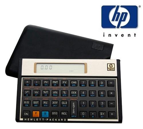 2c2b6887b Calculadora Financeira Hp12c Hp 12c Gold Original Lacrada - R  201 ...
